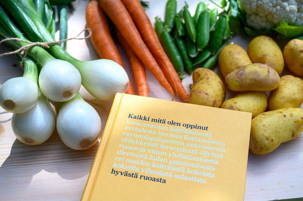 Kaikki mitä olen oppinut hyvästä ruoasta kirja
